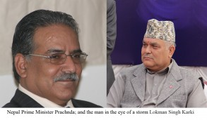 Prachanda on horns of a dilemma